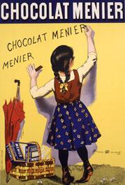 Affiche des chocolats Menier